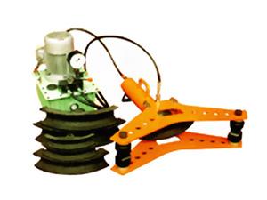 它除了具有弯管功能外,还能卸下弯管部件(油缸)作为分离式液压起顶机图片